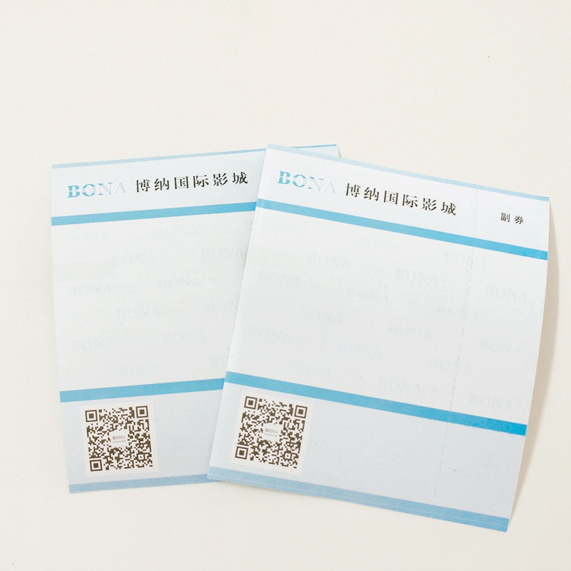 Thermal Movie Ticket Paper
