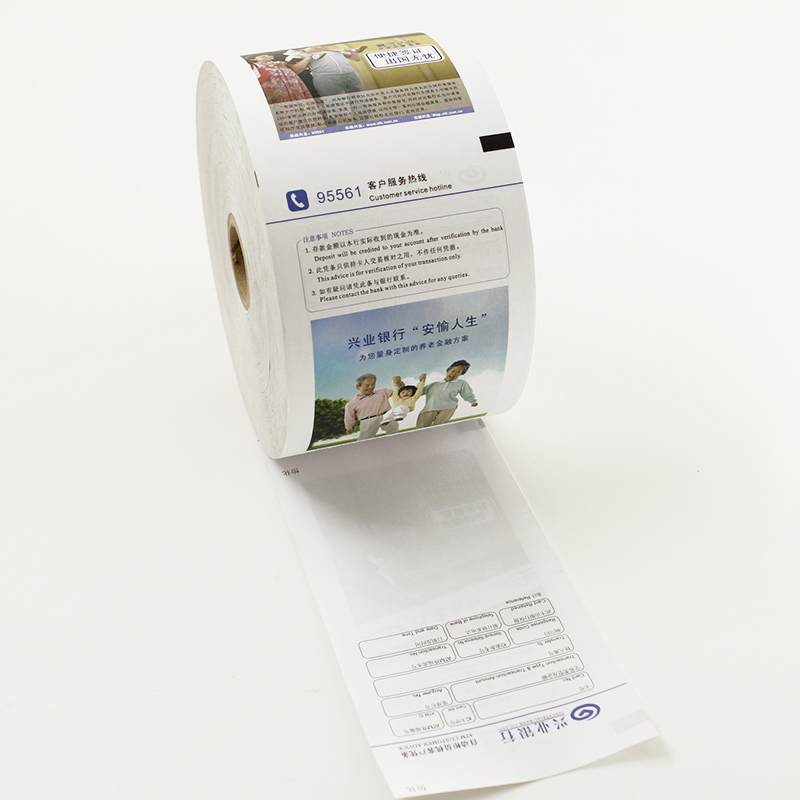 pre- printed thermal paper rolls